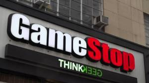'Short squeeze' results in sharp rise in share price for video game retailer Gamestop (02:02)
