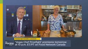 Chef Anne Burrell on her new show 'Vegas Chef Prizefight' (06:51)