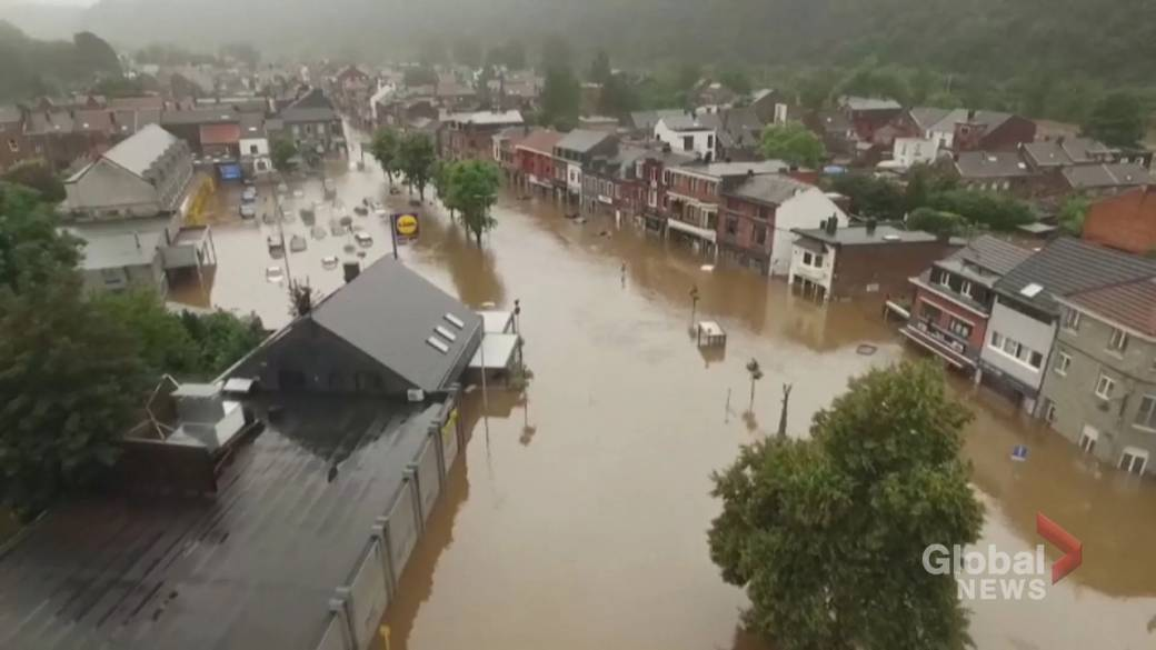 'Dozens dead, galore  much  missing amid dense  flooding successful  occidental  Europe'