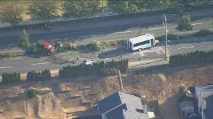 16 injured in multi-vehicle crash in Abbotsford (00:32)