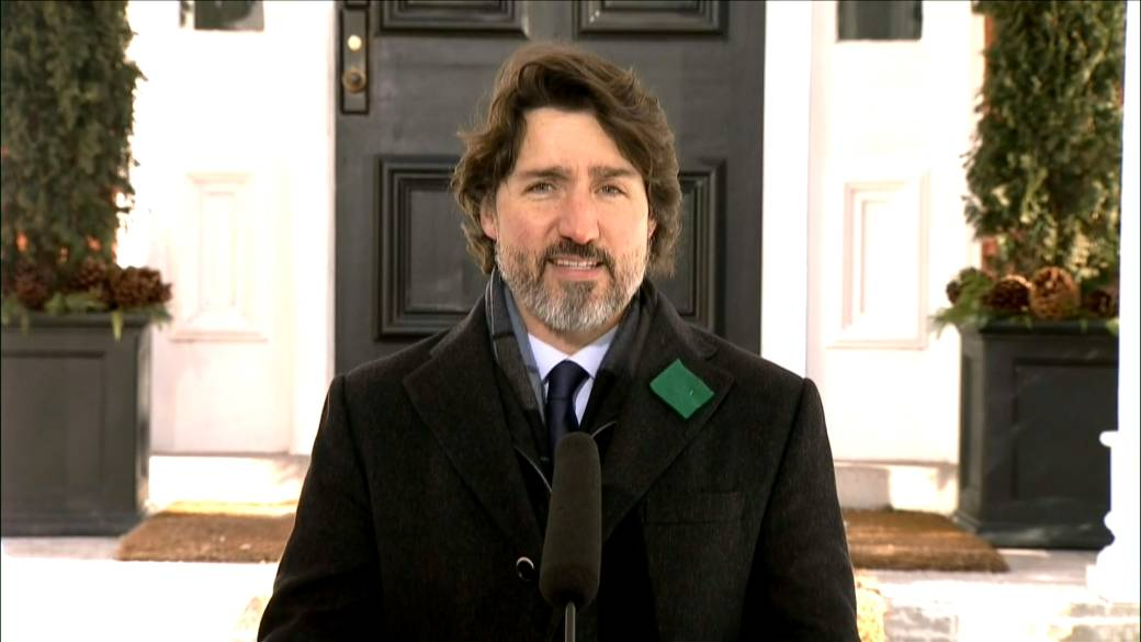 Click to play video: 'Coronavirus: Trudeau discusses cut back in Moderna COVID-19 vaccine delivery'