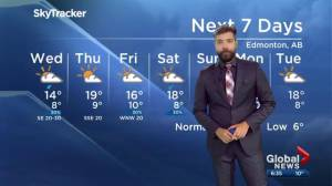 Global Edmonton weather forecast: Sept. 10