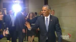 Barack Obama speaks in Halifax