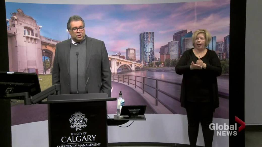 Click to play video 'Nenshi wants citizens to get outdoors, but not all in the same place'