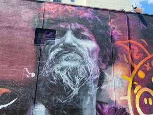 Edmonton mural honouring late SNFU singer nearly complete (01:03)
