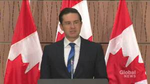 WE scandal: Pierre Poilievre says he's 'a little worried' about NDP motion for documents