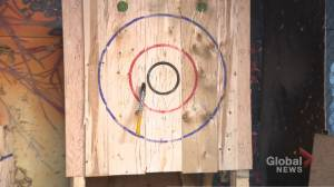 Quarantine Axe Throwing League (01:44)