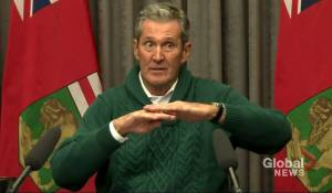 Manitoba Premier Brian Pallister talks about the province's ongoing talks with Ottawa over carbon tax