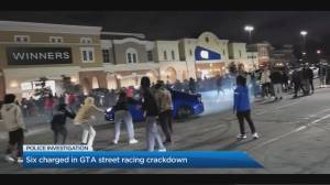 6 charged in GTA street racing crackdown (02:05)