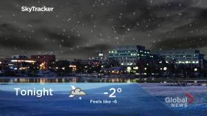 Mixed precipitation on the way for the region before the temperature starts to drop (01:13)