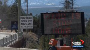 Out-of-province visitors to B.C. being urged to stay home, delay travel (02:11)