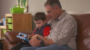 Variety helps Grant's dad with the cost of speech and language sessions