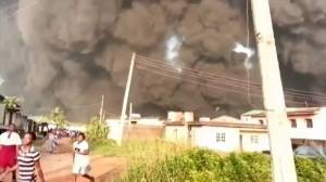 At least one dead after oil pipeline explosion in Lagos