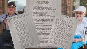 Edmonton senior finds love letter from husband after he passes from COVID-19 (01:57)