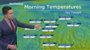Kelowna Weather Forecast: May 19 (03:16)
