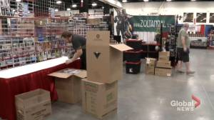 Local vendors enjoy 'really exciting opportunity' at Calgary Comic Expo (01:53)