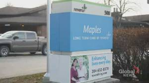 Winnipeg police homicide unit investigating Maples Personal Care Home (01:28)