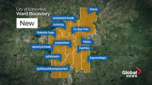 What Edmonton voters need to know about new ward names and boundaries (01:59)