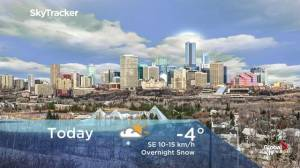 Edmonton early morning weather forecast: Friday, December 6, 2019