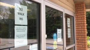 North Kawartha Health Centre in Apsley closed after receiving death threats (01:49)