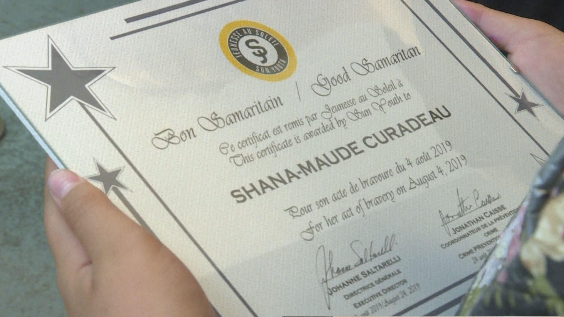 Two 11-year-old girls honoured with Good Samaritan award for saving drowning boy