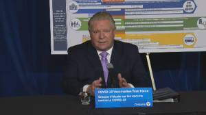 Coronavirus: Premier Ford defends Ontario reopening amid concerns from federal health officials (01:43)