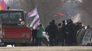 Reaction from the Mohawk community after police raid Tyendinaga Mohawk rail blockade