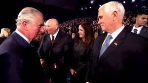 Prince Charles misses a handshake with Mike Pence in viral moment