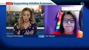 Supporting wildfire evacuees (03:42)