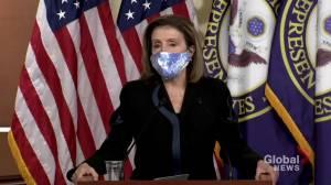 Coronavirus: House Speaker Pelosi criticizes Republicans' response to pandemic as U.S. deals with second wave (01:08)