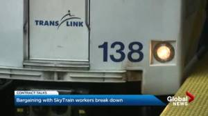 Bargaining with SkyTrain workers break down