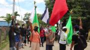 Play video: Defiant Myanmar protesters march against military as crisis deepens