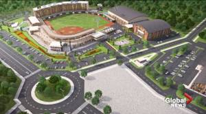 Plans for new Edmonton Prospects baseball field in Spruce Grove released