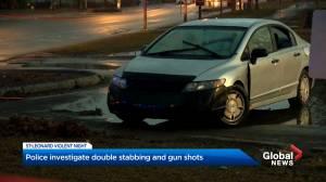 Violent incidents in Saint-Leonard on Wednesday night leave 2 teens in hospital (02:06)