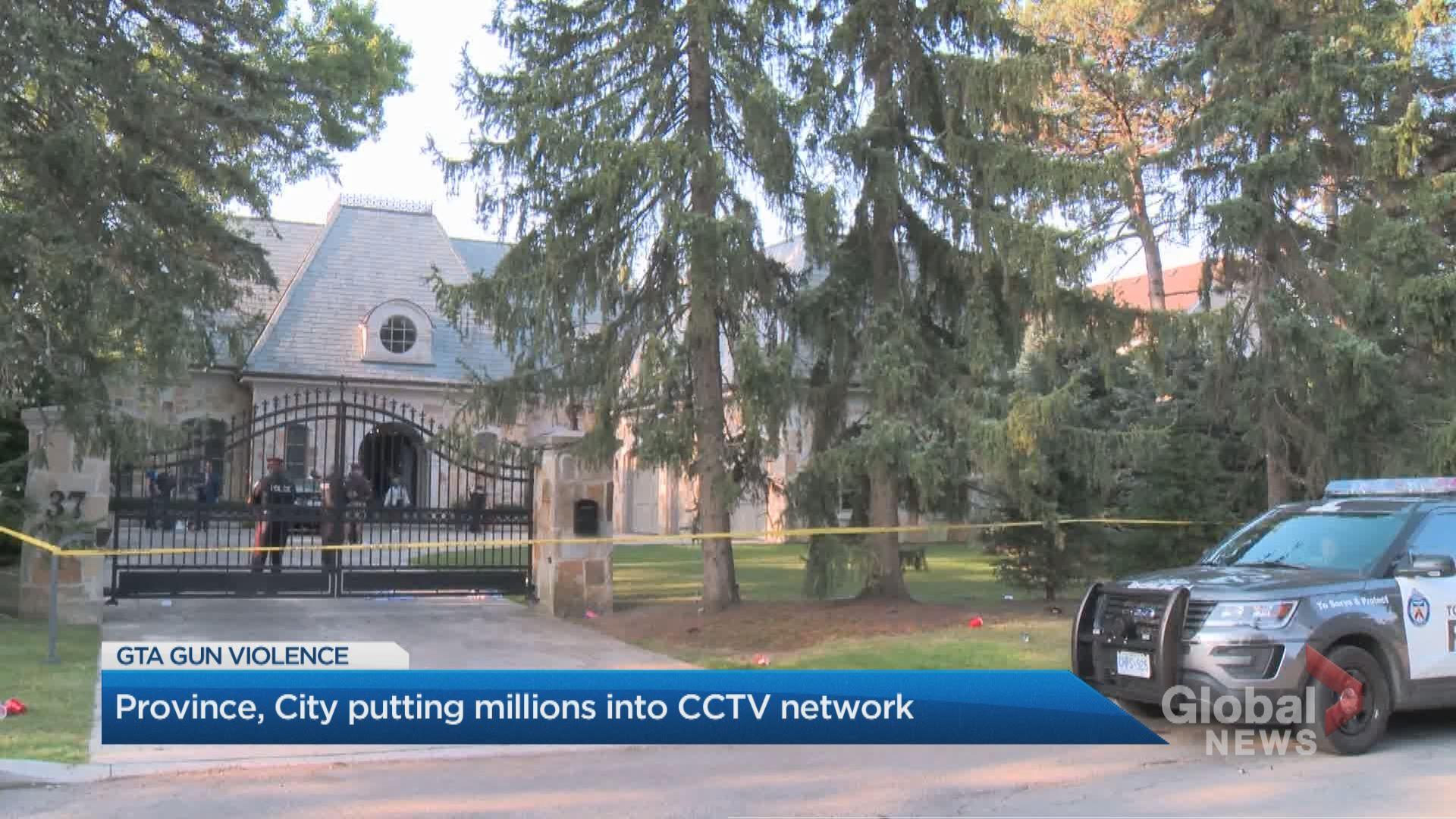 Ontario government provides Toronto police $3M to double CCTV cameras to combat gun