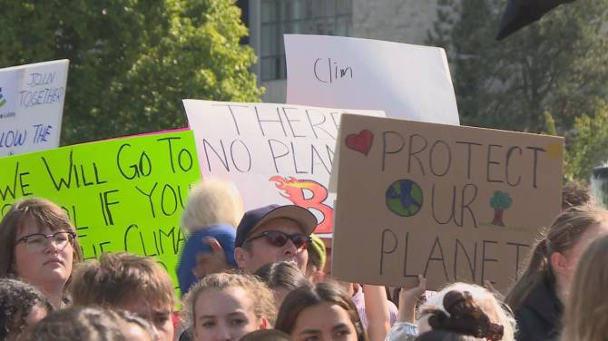 Students in Vancouver and across B.C. take part in Global Climate Strike
