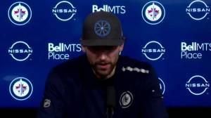 RAW: Winnipeg Jets Blake Wheeler Interview – May 14 (04:34)