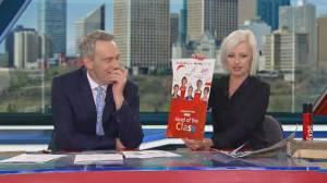 Shaye Ganam and original co-anchor Andrea Engel take a trip down memory lane