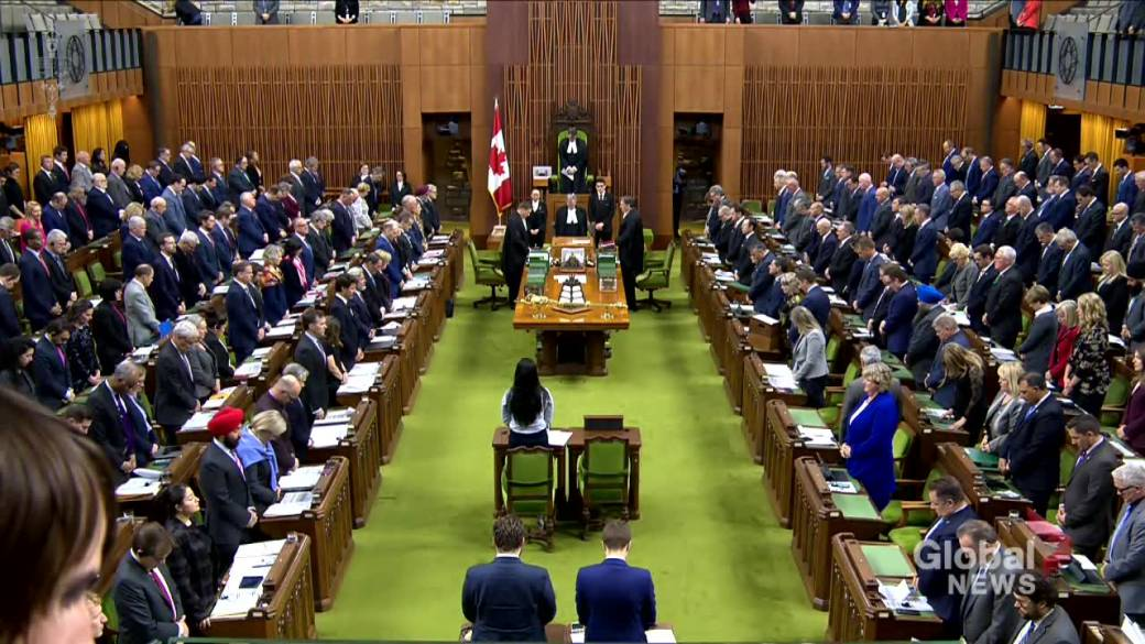 House of Commons observes moment of silence for victims of Iran plane crash