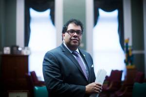 Naheed Nenshi addresses Calgary Chamber on Wednesday, Nov. 13