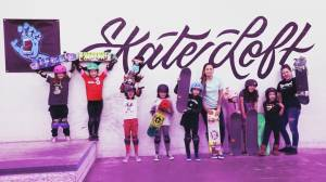 'Babes Brigade' inspires young skater girls as the sport gets recognized by the Olympics (02:21)