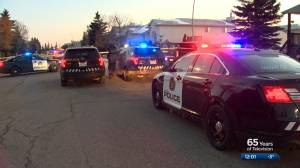 Calgary police searching for suspect after officer-involved shooting