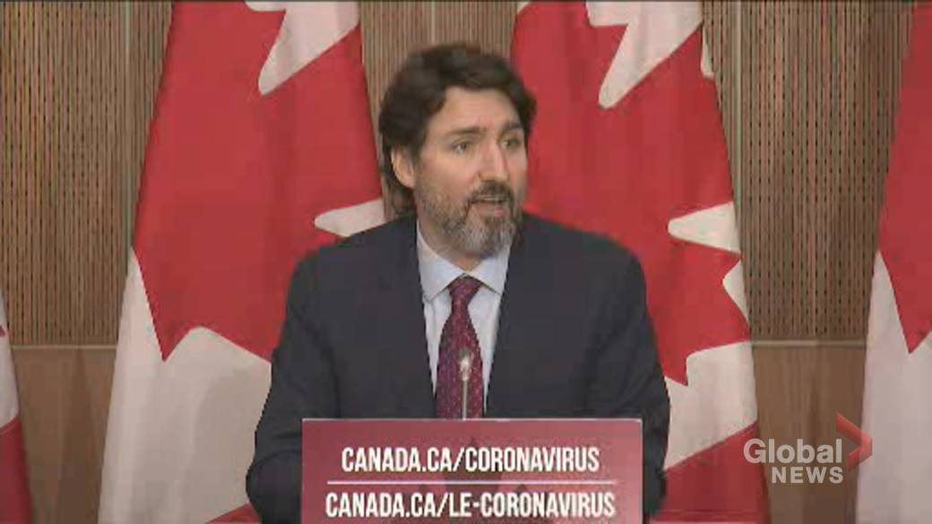 Click to play video 'Coronavirus: 'No corners cut' by Health Canada in approving vaccine candidates, Trudeau says'
