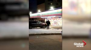 Shooting at Winnipeg 7-Eleven leaves armed robbery suspect, police officer injured