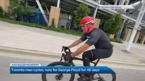 Cycling 46 days for George Floyd