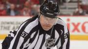 Play video: Jay Sharrers, first Black NHL official, reflects on career