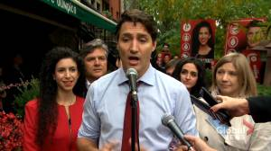 Federal Election 2019: Trudeau says 'trickle down' economics won't grow economy