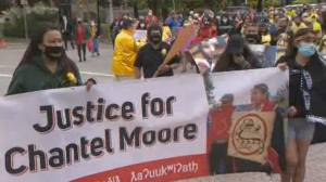 Chantel Moore's family demands justice & public inquiry