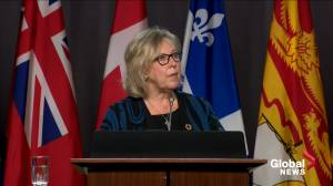 Elizabeth May says throne speech needs to include climate action or Greens won't vote confidence
