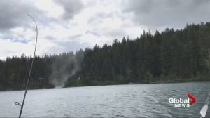 B.C. fisherman captures video of fairweather waterspout (01:08)